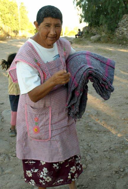 Blanket Recipient